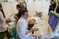 sanidad, dia contra el ictus, pruebas en el hospital infanta cristina