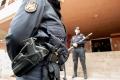 policia nacional, policia cientifica intervienen en suerte de saavedra, calle olof palmez, por agresion con arma blanca