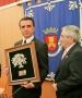 Olivenza feria del toro Ortega Cano recibe encina de plata