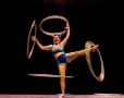 Malabart, artes circenses en el teatro lopez de ayala,