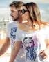 publicidad, campaña para camisetas Badajoz me mata, la canadiense