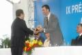 IX premio internacional puete de alcantara el principe felipe y leticia sanchez vara y cavaco silva