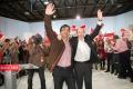 elecciones generales. PSOE, mitin Rubalcaba, Marisol Pérez, Sanchez Vara