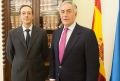 nuevos vocales del Consejo Consultivo de Extremadura, Juan Ignacio Barrero y Juan Manuel Rodríguez Barrigón.