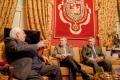 El alcalde de Badajoz, Francisco Javier Fragoso, visita al presidente de la Cámara Municipal de Elvas, José Antonio Rondao Almeida