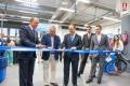 El Alcalde Fragoso, y el Presidente monago en la inauguracion de la tienda deportiva Decathlon