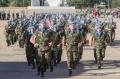 badajoz, base  militar general menacho, despedida tropas mision internacional en el libano, soldados de la ONU