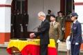 """Badajoz, Base militar """"General Menacho"""" entierro del soldado fallecido en el Libano,  ministro de Defensa, Pedro Morenés"""