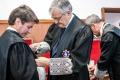 Badajoz, Fiscal general del Estado, Eduardo Torres-Dulce, el acto de imposición de la Cruz de Primera Clase de San Raimundo de Peñafort al fiscal jefe de la Fiscalía Provincial de Badajoz, Antonio Mateos.