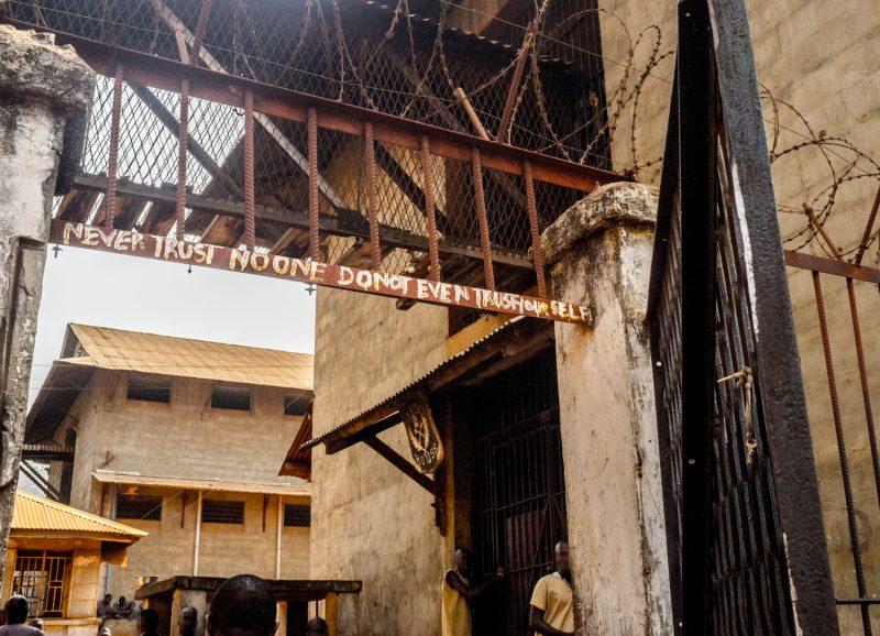 Fretown, Sierra Leone, Pademba, cárcel
