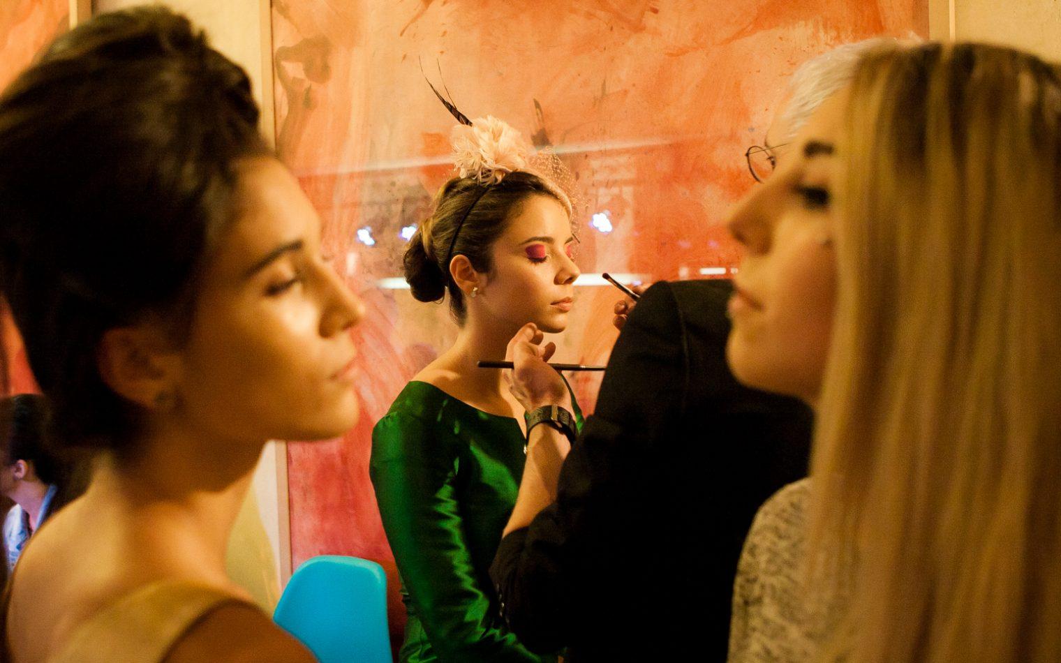 Espacio Convento, programa diseño de moda We Desing. Back Stage