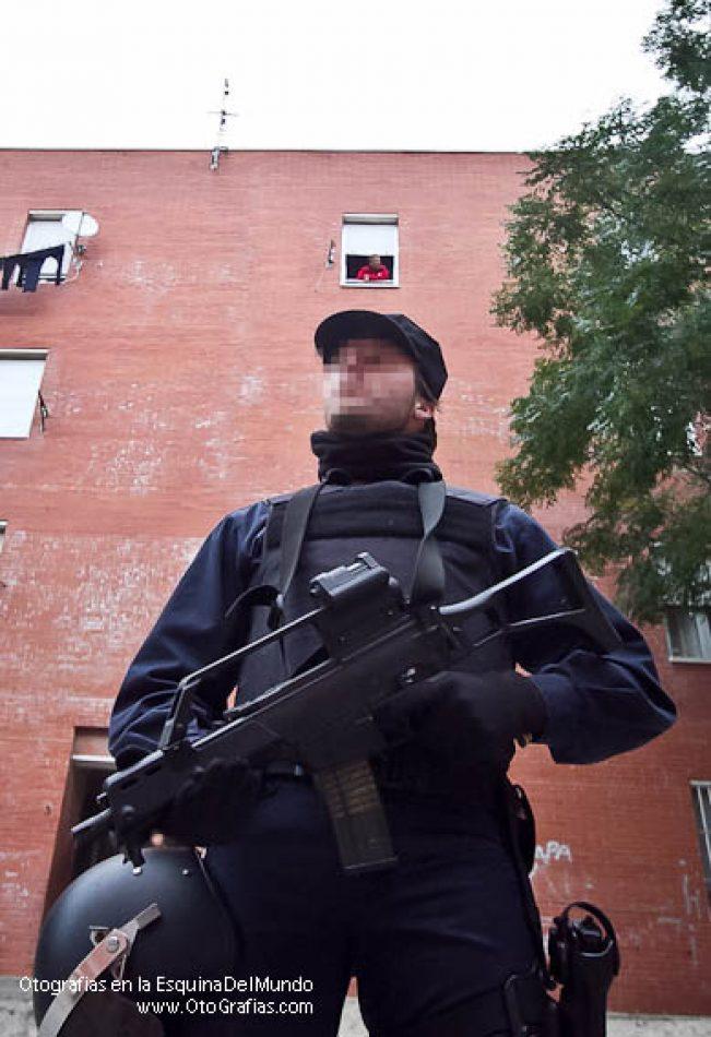 operacion antidroga en los colorines, operacion jaula, redada policia nacional
